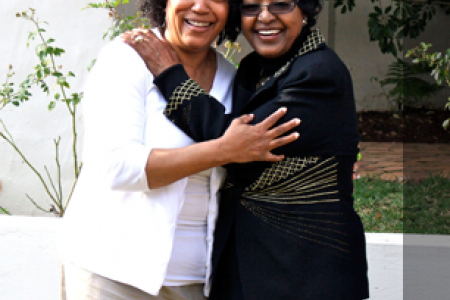 Johnson-Bailey and Winnie Mandela